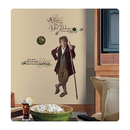 Hobbit Bilbo Baggins Giant Peel and Stick Wall Decal