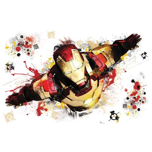 Iron Man 3 Graphic Giant Peel and Stick Wall Decal