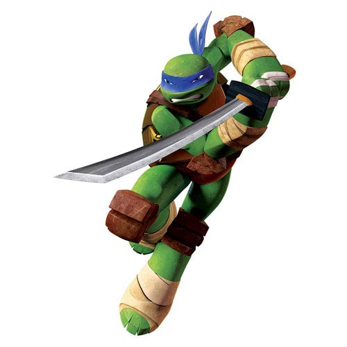 Teenage Mutant Ninja Turtles Leo Giant Wall Decal