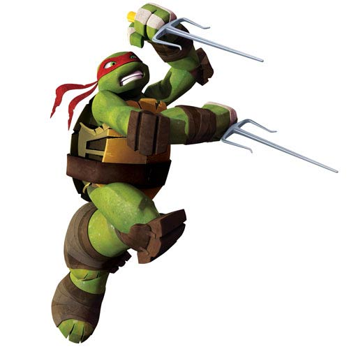 Teenage Mutant Ninja Turtles Raph Giant Wall Decal