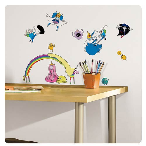 Adventure Time Peel and Stick Wall Decals