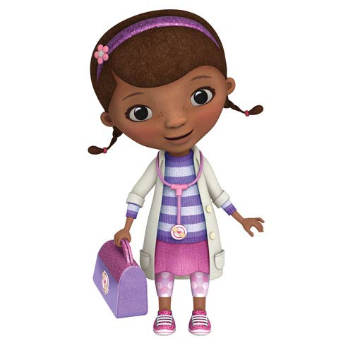 doc mcstuffins giant peel and stick wall decal roommates