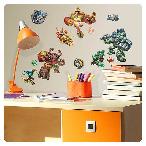 Skylanders Peel and Stick Wall Decals