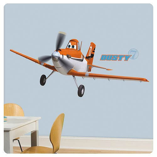 Planes Dusty Crophopper Peel and Stick Giant Wall Decal
