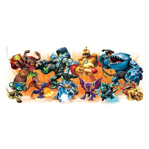 Skylander Giants Burst Peel and Stick Wall Decals
