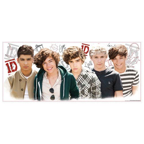 1D Peel and Stick Wall Decal