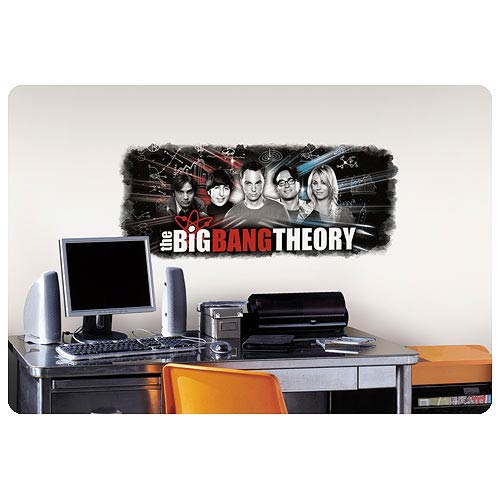 Big Bang Theory Wall Graphic Peel and Stick Wall Decal