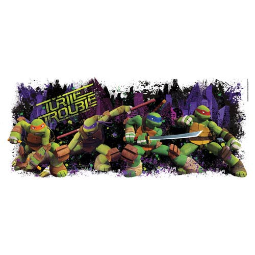 Teenage Mutant Ninja Turtles Turtle Trouble Wall Decal