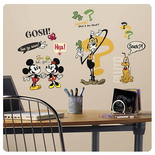 Mickey Mouse and Friends Mickey Shorts Wall Decals