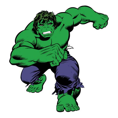 Hulk Marvel Classics Peel and Stick Giant Wall Decal
