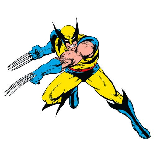 Wolverine Marvel Classics Peel and Stick Giant Wall Decal