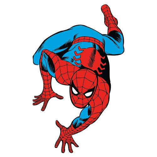 Spider-Man Marvel Classics Peel and Stick Giant Wall Decal