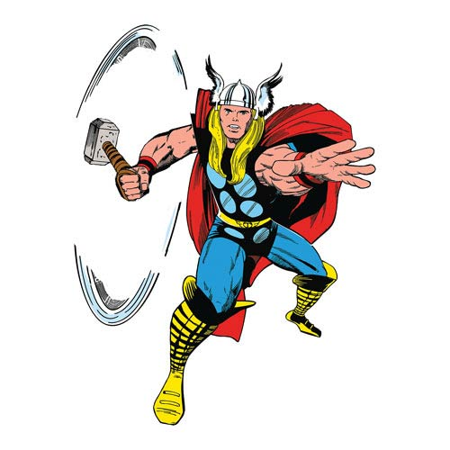 Thor Marvel Classics Peel and Stick Giant Wall Decal