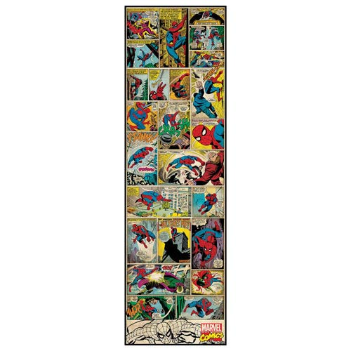 Spider-Man Marvel Classics Comic Panel Giant Wall Decal