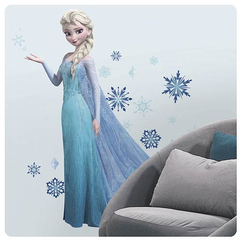 Disney Frozen Elsa Peel and Stick Giant Wall Decal