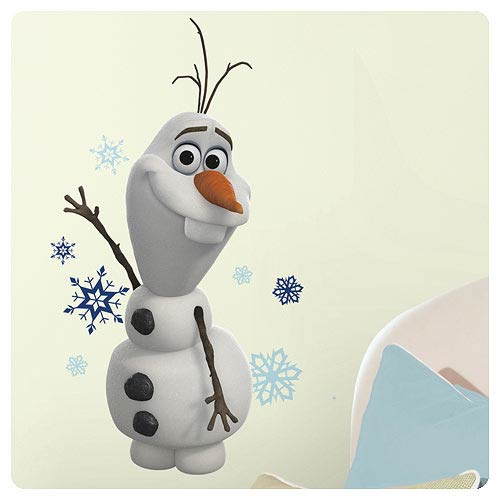 Disney Frozen Olaf The Snowman Peel and Stick Wall Decal