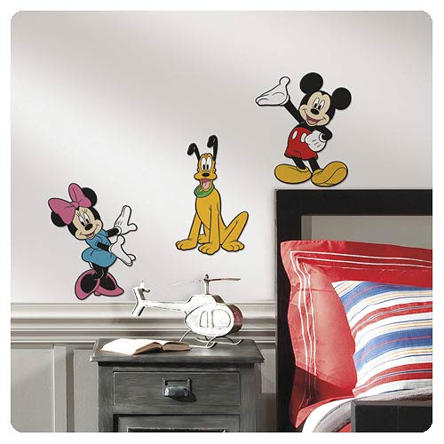 Mickey Mouse and Friends Foam Wall Decals