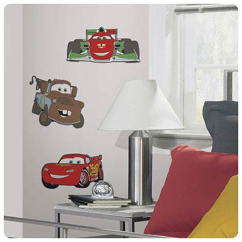 Cars Foam Wall Decals