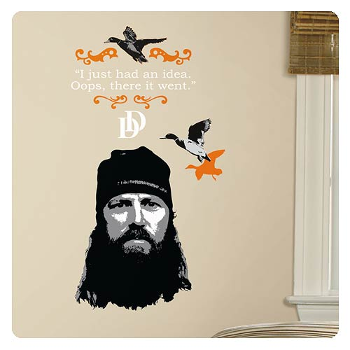 Duck Dynasty Jase Robertson Wall Decal