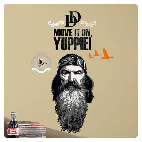 Duck Dynasty Phil Robertson Wall Decal