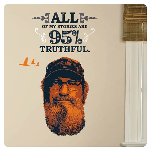 Duck Dynasty Si Robertson Wall Decal