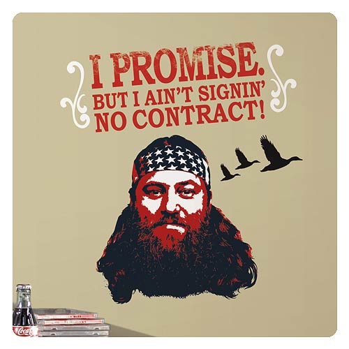 Duck Dynasty Willie Robertson Wall Decal