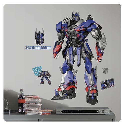 Transformers Age of Extinction Optimus Prime Wall Decal