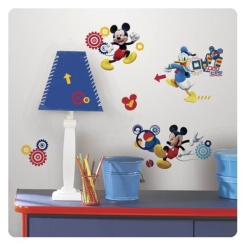 mickey mouse clubhouse capers wall decals roommates. Black Bedroom Furniture Sets. Home Design Ideas