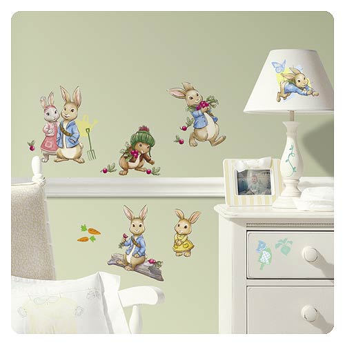 Peter Rabbit Peel And Stick Wall Decals Part 50