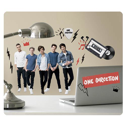 1D I Love 1D Peel and Stick Wall Decals