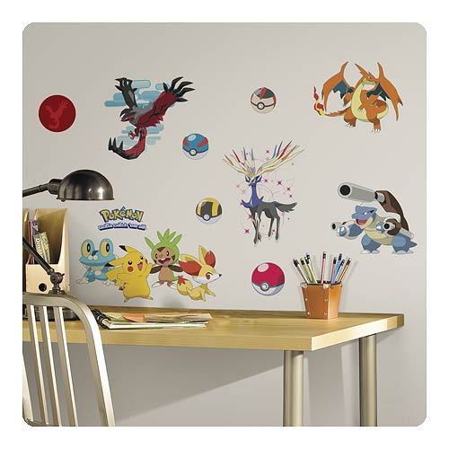 ... roommates pokemon wall murals pokemon xy peel and stick wall decals
