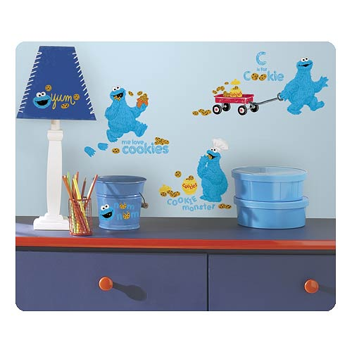 Sesame Street Me Love Cookie Monster Wall Decals