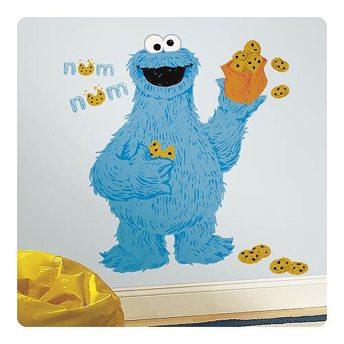 Sesame Street C is for Cookie Monster Giant Wall Decal