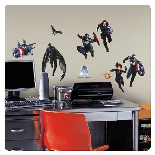 Captain America The Winter Soldier Wall Decals