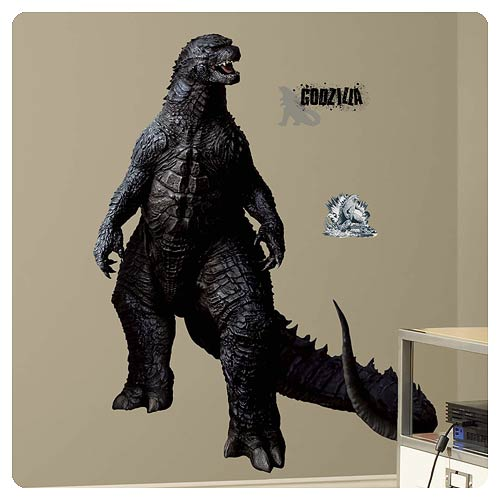 Godzilla Peel and Stick Giant Wall Decal