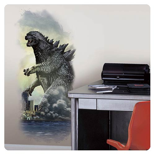 Godzilla City Wall Graphix Peel and Stick Wall Decal