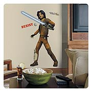 Star Wars Rebels Ezra Peel and Stick Giant Wall Decal