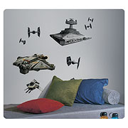Star Wars Rebels with Imperial Ships Giant Wall Decals