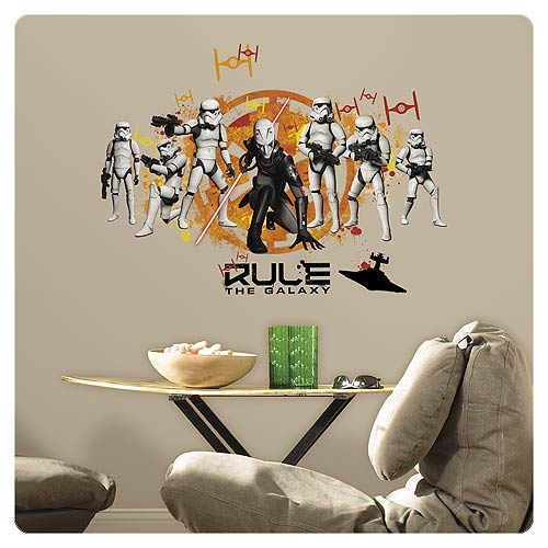 Star Wars Rebels Imperial Army Peel and Stick Wall Decals