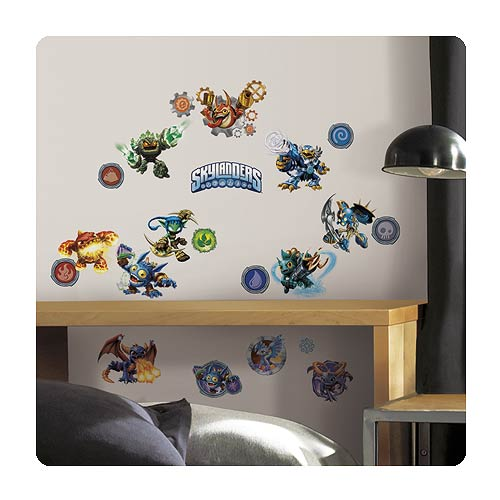 Skylanders Classic Peel and Stick Wall Decals