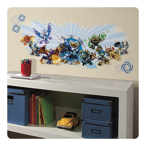 Skylanders Classic Wall Graphic Peel and Stick Wall Decals