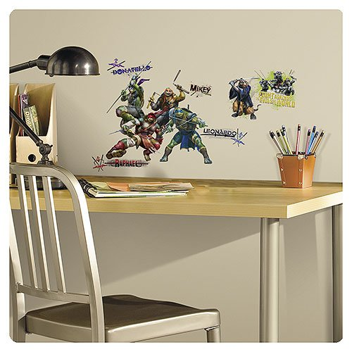 Teenage Mutant Ninja Turtles Film Peel and Stick Wall Decals