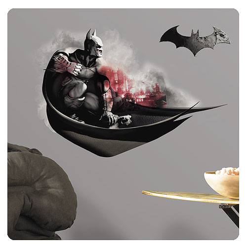 Batman Arkham City Darkness Peel And Stick Giant Wall Decals