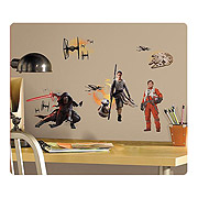 Star Wars Episode VII The Force Awakens Wall Decals