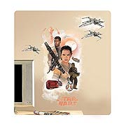 Star Wars Episode VII The Force Awakens Heroes Giant Wall Graphic