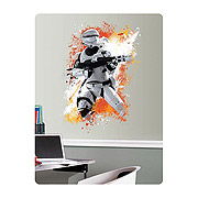 Star Wars Episode VII The Force Awakens Flametrooper Giant Wall Graphic