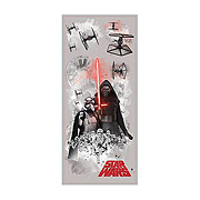 Star Wars Episode VII The Force Awakens Villains Giant Wall Graphic