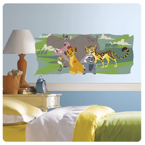 The Lion Guard and Friends Peel and Stick Giant Wall Graphic