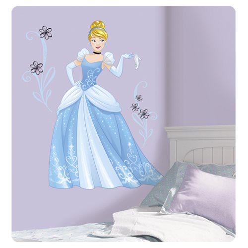 Cinderella Disney Sparkling Princess Peel and Stick Giant Wall Decals