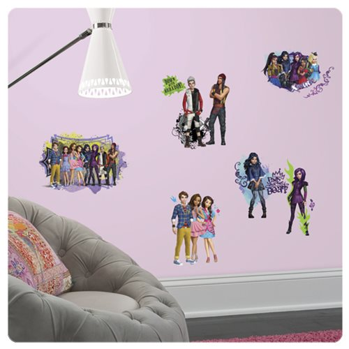Descendants Animated Peel and Stick Wall Decals
